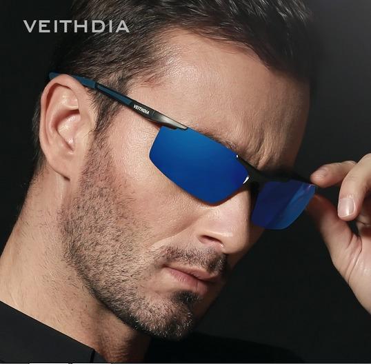 Óculos De Sol Masculino Polarizado Veithdia Original Uv400