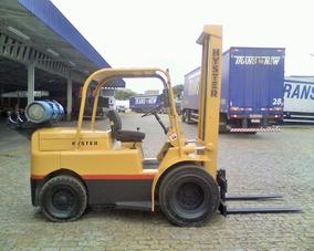 Empilhadeira Hyster H60j Cap 3 Tons 6 Cil Glp Rodagem Dupla