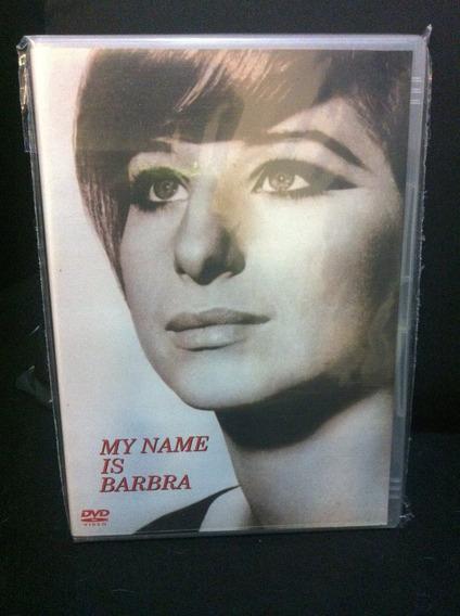 Dvd My Name Is Barbra Streisand - Original - Nacional
