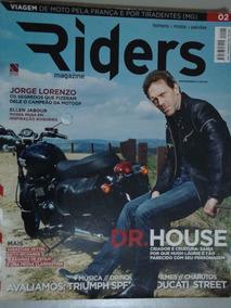 Revista Riders Magazine Nº 02 - Homens/motos/paixões