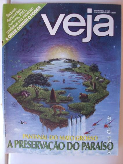 Revista Veja N- 787 Pantanal Do Mato Grosso Preserv. Paraíso