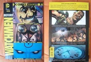 Dc Comics Before Watchmen Volumen 2 Absolute Latino