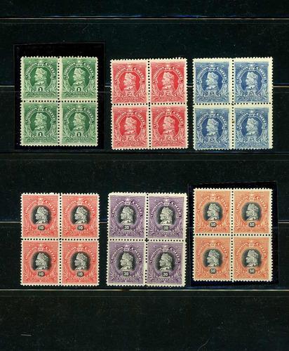 Sellos Postales De Chile. Colón,  Napoleones , Nuevo Diseño.