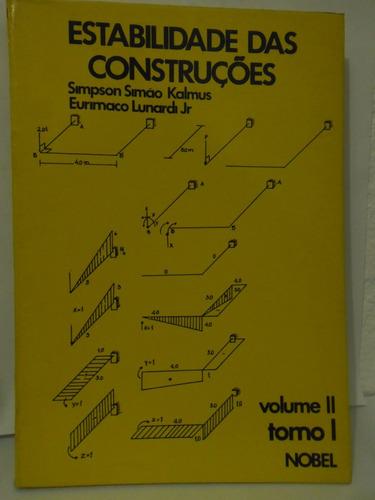 Estabilidade Das Construções Volume 2 - Simpson Simão Kalmus