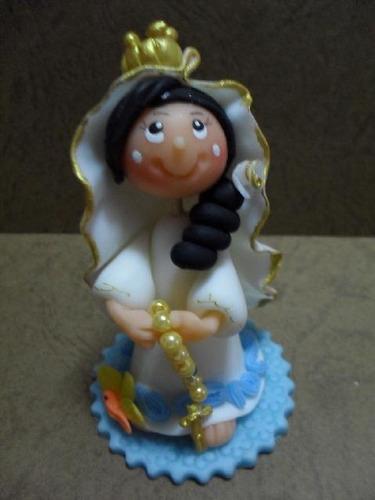 Virgen Del Valle  - Masa Flexible- Recuerdo (unidad)