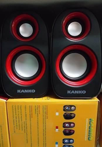 Caixa De Som 9 W Kanko Usb/p2 Para Notebook, Tablet, Pc