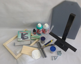 Kit Completo Inicial Para Silk Screen