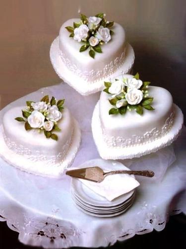 Imagen 1 de 3 de Torta Para Matrimonio