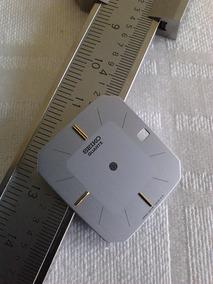 Mostrador Relógio Technos Quartz Quadrado Prata