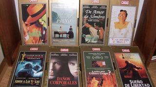 Peliculas En Vhs- Colección Revista Caras- 8 Titulos