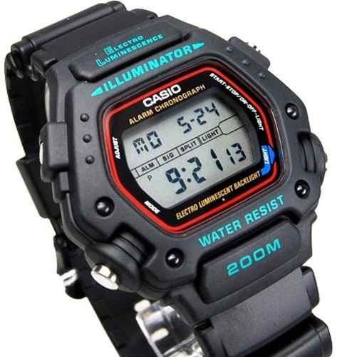 744d2bf44fb3 Reloj Casio Dw290 Alarma Luz Temporizador Cronometro -   899.00 en Mercado  Libre