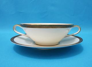 Taza Para Consomé De Porcelana Rosenthal Betina