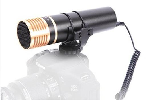 Microfone Condensador Estéreo Para Câmera Dslr, Filmadora E Gravadores De Áudio Worldview