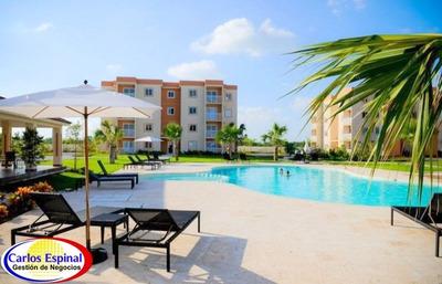 Apartamentos Turísticos Baratos De Venta En Punta Cana, Rd