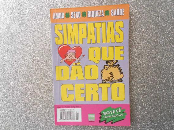 Livro Simpatias Que Dão Certo- Edição De Nº03