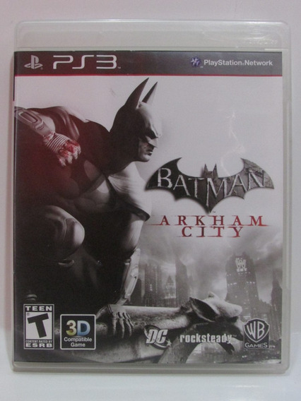 Batman Arkham City - Game Play 3 Original Completo Mídia