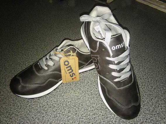 Zapatillas De Ecocuero N° 42