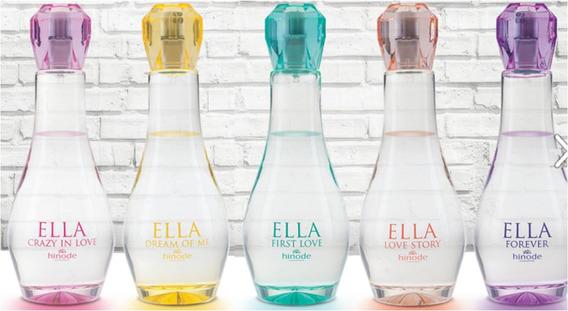 Perfumes Ella Feminino Hinode R$ 95,00 Cada