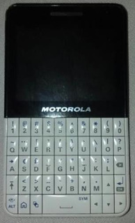 Motorola Ex-119, 2 Sim Wifi, Bluetooth, Touchscreen, Camera