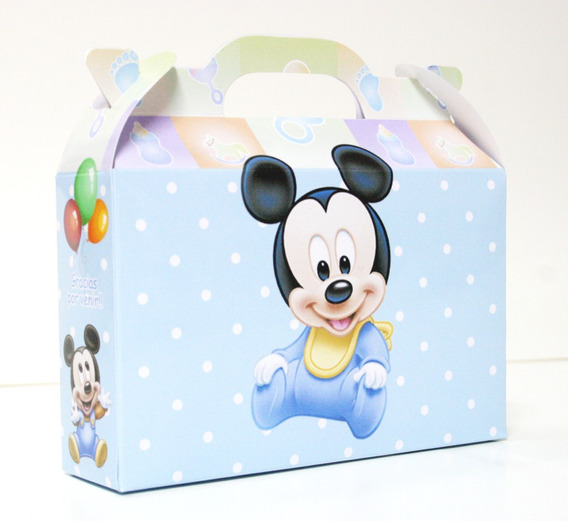 Cajita Bolsita Mickey Bebé X10+10 De Minnie Bebé
