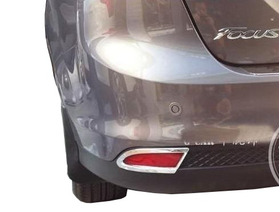 Jgo Cromado Moldura Refletor Novo Focus Hatch 2014