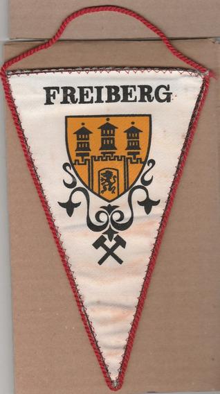 Flâmula Antiga Freiberg - Em Tecido - Frente E Verso - Ao