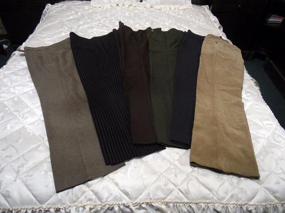 Lote De 6 Pantalones De Dama Talle M
