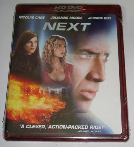 Imagen 1 de 1 de Película Next Hd Dvd Nicolas Cage Original Nueva Wide Ntsc
