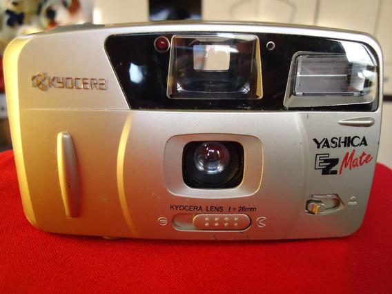 Camera Yashica Ez Mate - Perfeita