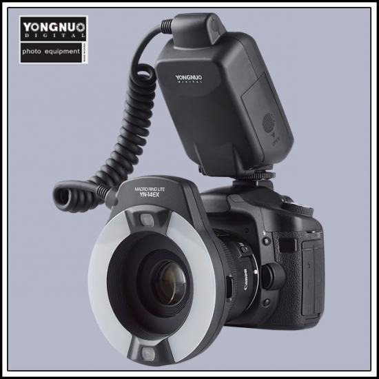 Yongnuo Flash Yn14ex Macro Ring Lite Para Canon Twin 14ex