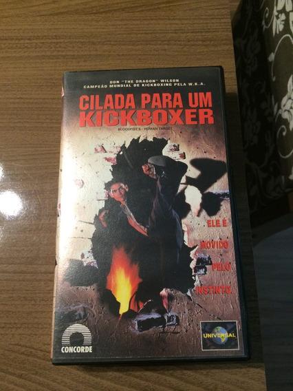 Vhs Cilada Para Um Kickboxer Original $ 16,00 Envio $ 12,00