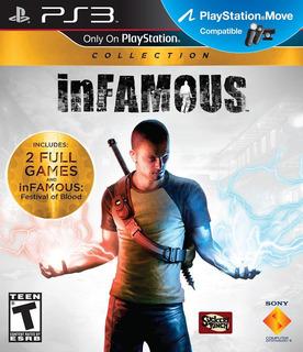 Infamous + Infamous 2 + Festival Of Blood - Ps3 Digital Gcp