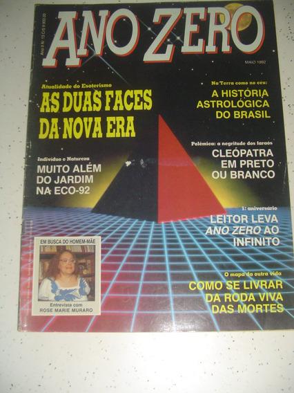 Revista Ano Zero 13 História Astrologia Brasil 1992 Fretgrat