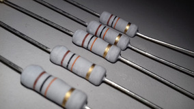 Resistor De Potencia 10k 5% 2w Lote Com 5 Peças