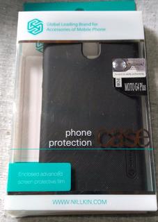 Capa Case Celular Moto G4 Plus + Protetor De Tela