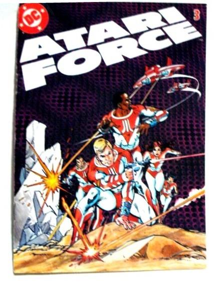 Atari Force Nº 3 Revista Em Quadrinhos Atari
