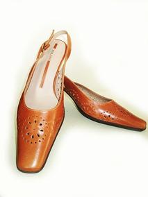 Zapatos De Mujer Pollini 100% Cuero Nuevos