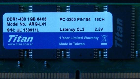 Memoria Ddr2 Sodim 1gb 800mhz Chip Samsung Latency 3 Titan