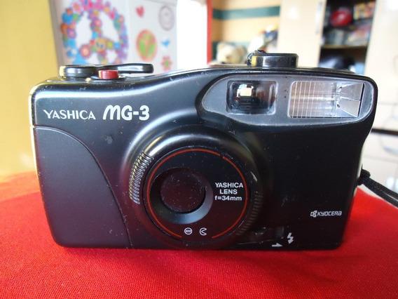Camera Yashica Mg3 Kyocera - Perfeita