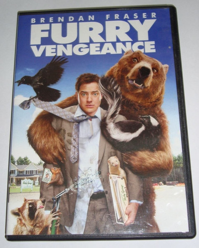 Dvd Original Furry Vengeance Brendan Fraser Usada Wide Ntsc