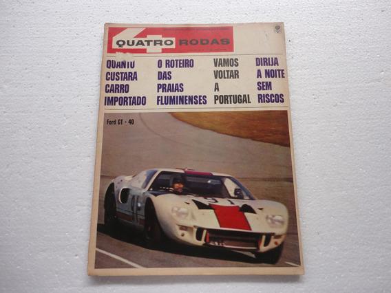 Revista 4 Rodas Antiga 1967 / 76 Aero Willys