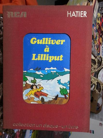Coleção Disco E Livro Gulliver À Lilliput Antigo Raro 1972