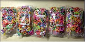 Rainbow Loom - Kit Borracha Mix Com 600 Unidades