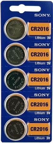 Bateria Sony Cr2016 - Pack Com 15 Baterias