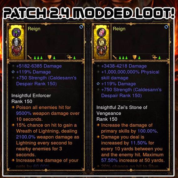 Diablo 3 Ps4 - Anel 1.000.000.000% +dano Bugado Patch 2.4