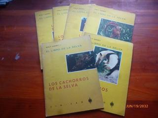Lote De 6 Revistas Walt Disney El Libro De La Selva