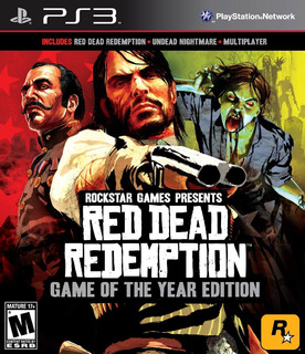 Red Dead Redemption Goty Ps3 Digital Gcp