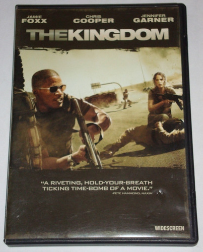 The Kingdom Jamie Foxx Dvd Original Usada Widescreen Ntsc