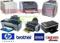 Curso D Reparación Y Mantenimiento D Todo Tipo D Impresoras.