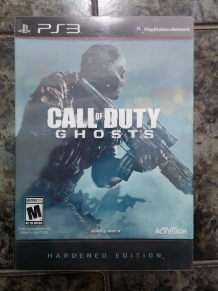 Call Of Duty Ghosts Hardened Edition - Steelbook + Pulseira